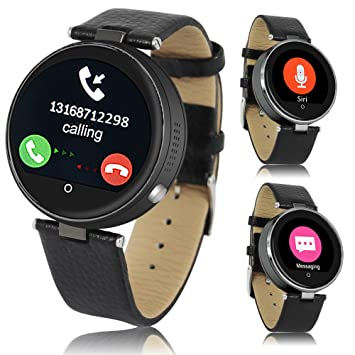 Bluetooth reloj inteligente Indigi funda para iOS iPhone 6s Android Galaxy S6 etidronato Nota 5