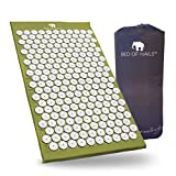 Bed of Nails, Green Original Acupressure Mat for Back/Body Pain Treatment, Relaxation, Mindfulness