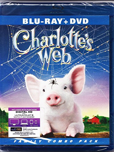 Charlotte's Web (2006) [Blu-ray + DVD + HD Digita; Copy] by Warner Bros.