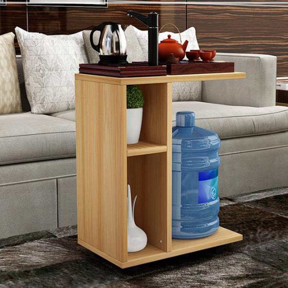 Uitverkoop Bijzettafel, koffietafel, mobiel, sofa, tafel, laptop, standaard, metalen frame, looproller, opbergrol B jXOz32q