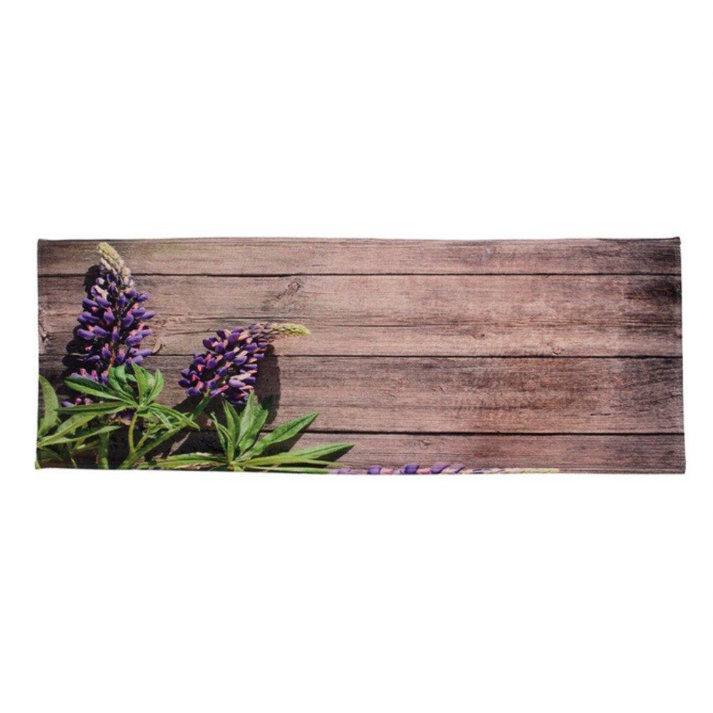 KRWHTS Rustic Old Barn Distressed Wood Indoor/Outdoor No Slip bottom Door Mat, Kitchen Rug, Bathroom Rug Brown