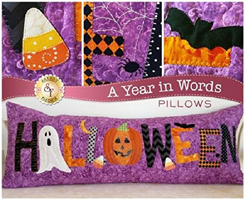 A Year in Words- Halloween Pillow Pattern (Lo Bosworth Halloween)