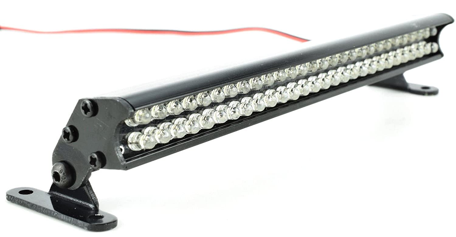 Apex RC Products 56 Led 138 mm de Aluminio Barra de luz para 1/10 Curso Corto Camiones, Traxxas Slash, Raya Vertical 4X4, TRX-4, Nitro Raya Vertical, ...