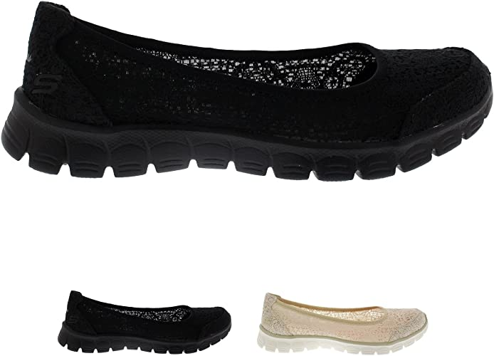 Amazon.co.uk: Skechers Ballet Pumps