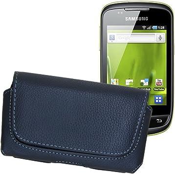 Funda, Funda de Piel para Samsung Galaxy mini/GT-S5570/GT-S5570i ...