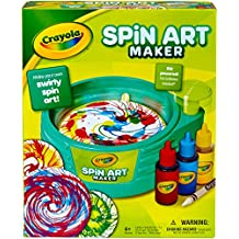 Crayola Spin Art Maker, Art Activity Toy, Kid-Powered, No Batteries, Great Gift