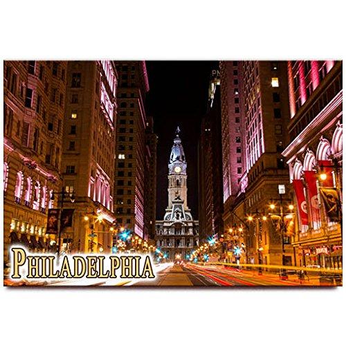 Philadelphia City Hall Fridge Magnet Pennsylvania Travel Souvenir