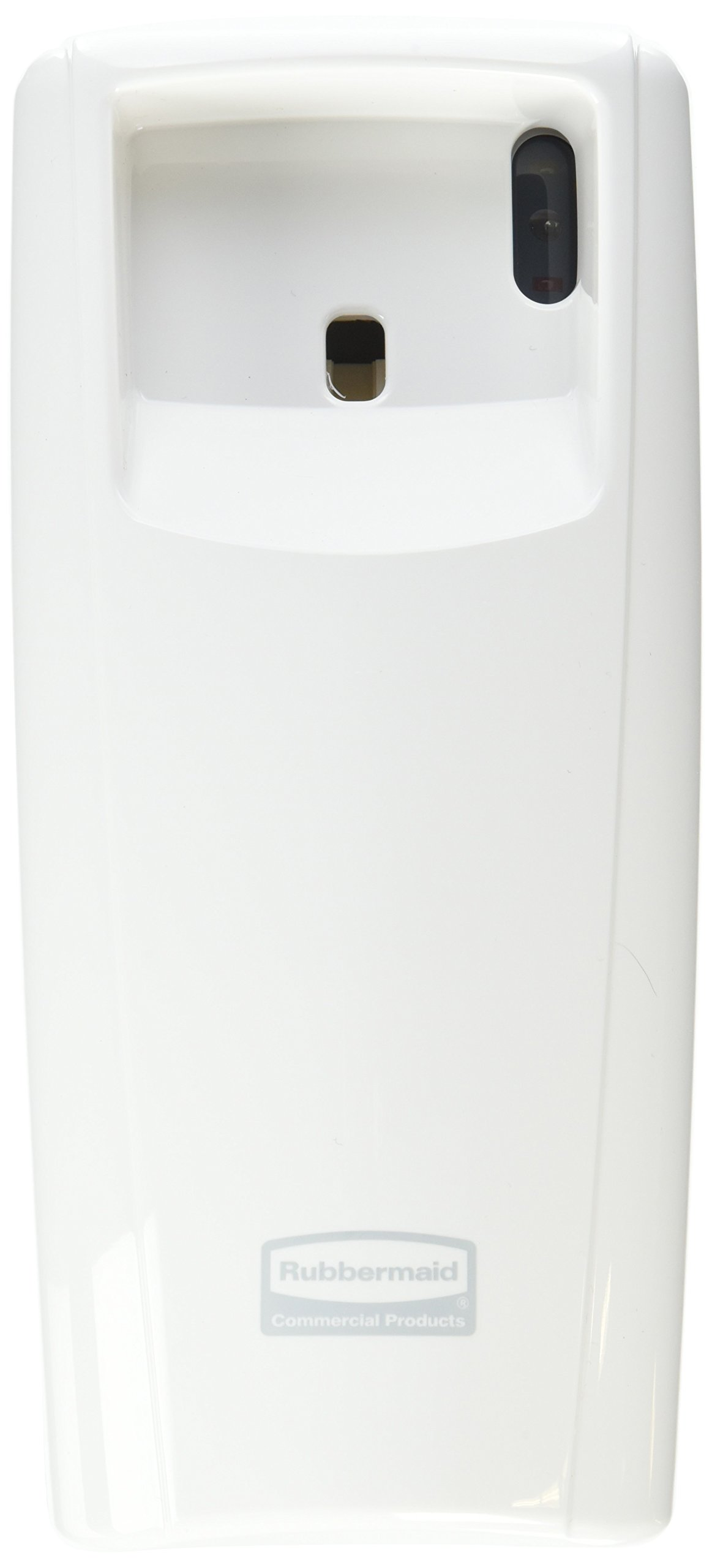 Rubbermaid Commercial Products 1793538 Standard Odor-Control Aerosol Dispenser with LED Display, White