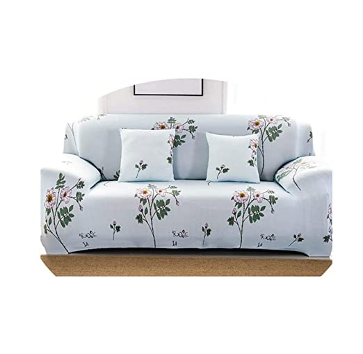 Floral Pattern Elastic Sofa Covers Stretch Universal ...