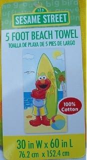 Elmo Sesame Street Beach Towel