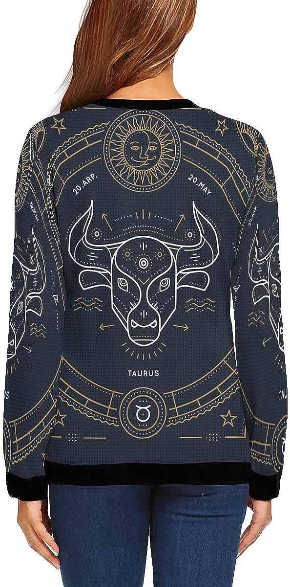 Patrick Clovers Crew Neck Sweatshirt INTERESTPRINT Womens Casual Pullover Tops St