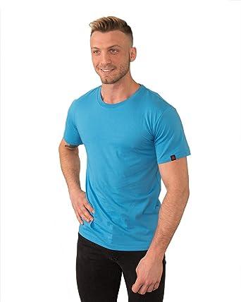 8f0c6cc74 Etiko Organic Fairtrade Unisex Cotton Blank Short-Sleeve T-Shirt,  Regular-Fit