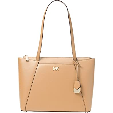 bc11170fa0ba Amazon.com: Michael Kors Women's Medium Maddie Leather Top-Handle Bag Tote  (Butternut): Shoes