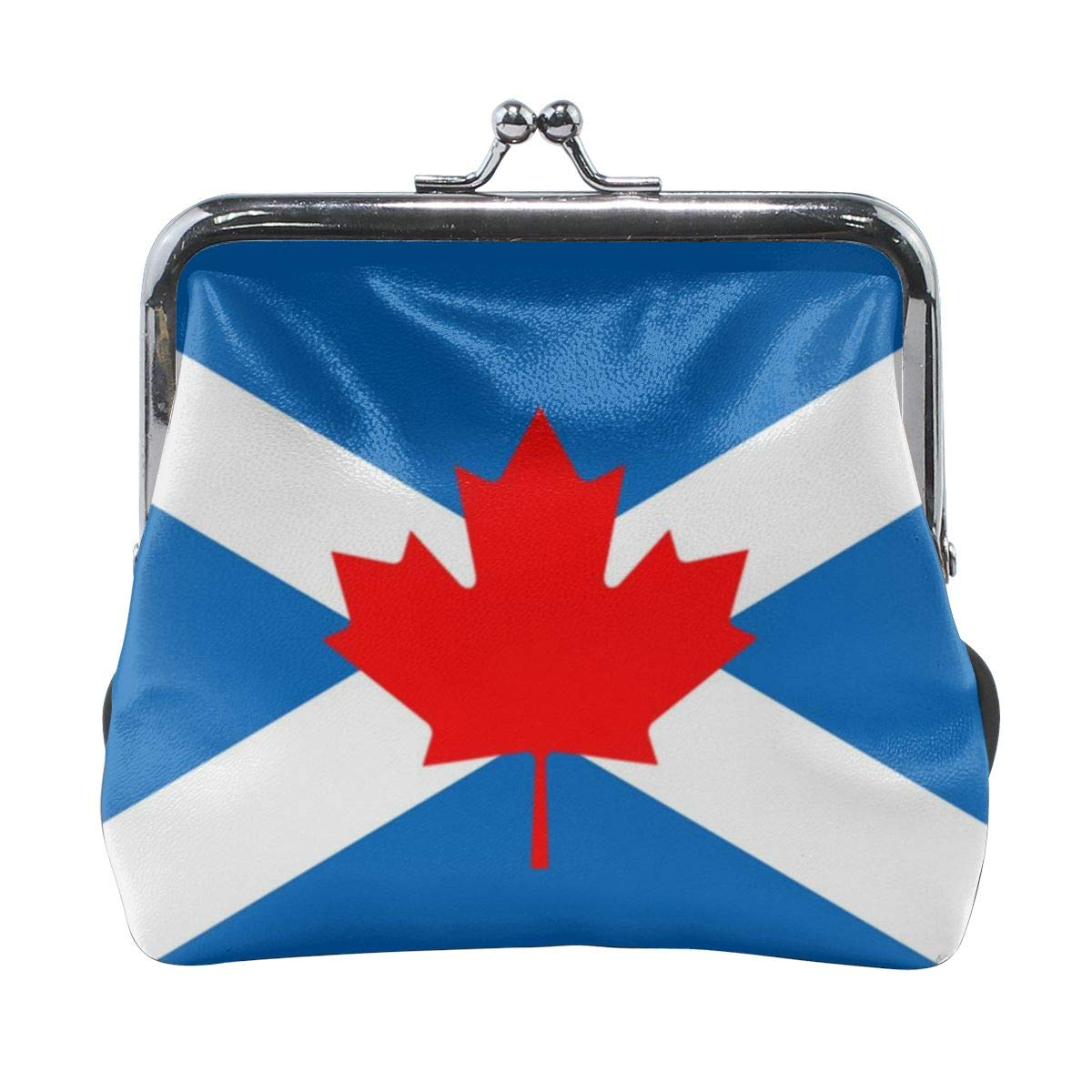 Flag Of Scottish Canadians Cute Buckle Coin Purses Buckle Buckle Change Purse Wallets