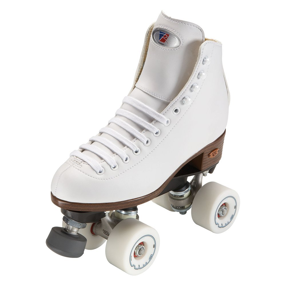 Riedell Skates - Angel - Artistic Quad Roller Skate | White | Size 11 | by Riedell (Image #1)