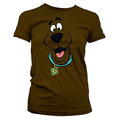 640fce1ed06f6 Scooby Doo Officially Licensed Face Women T-Shirt at Amazon Women s Clothing  store
