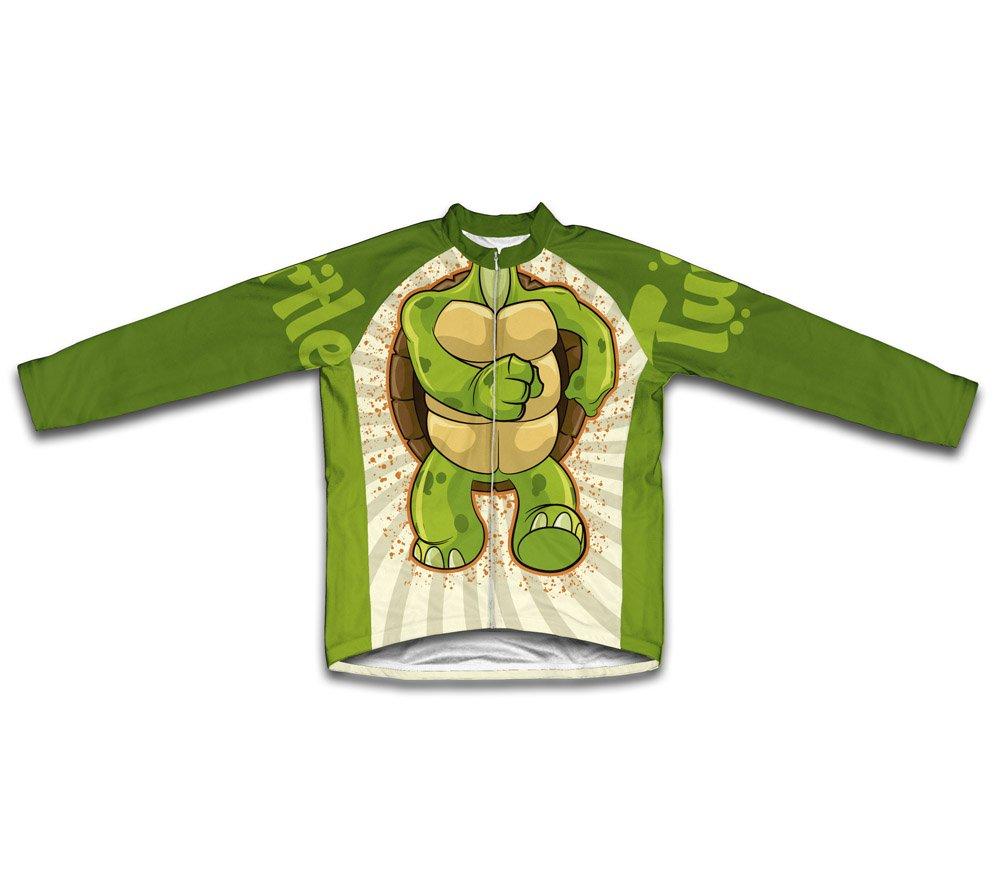 Turtle長袖サイクリングジャージーの女性 4L  B00PUZMYLI
