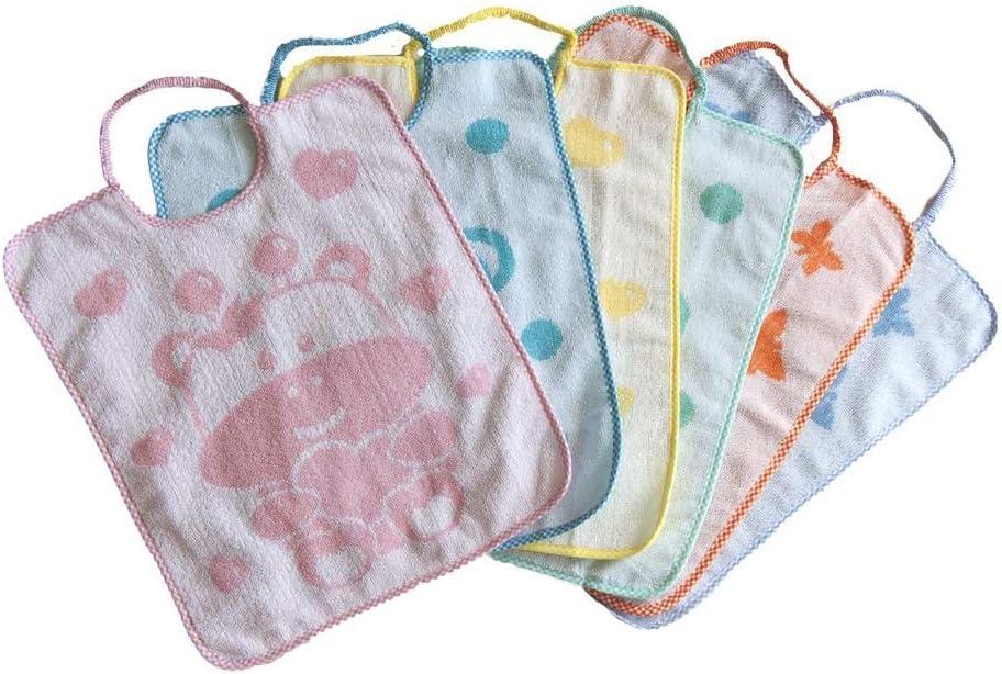 Baberos Dumbo Confeccionado en suave rizo Jacquard con cordones Bubab/ù