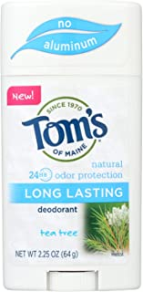 product image for Toms of Maine Tea Tree Long Lasting Deodorant, 2.25 Ounce - 6 per case.
