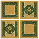 Shindigz 2 ft. 4 in. Seven Kingdoms Tile Cutouts