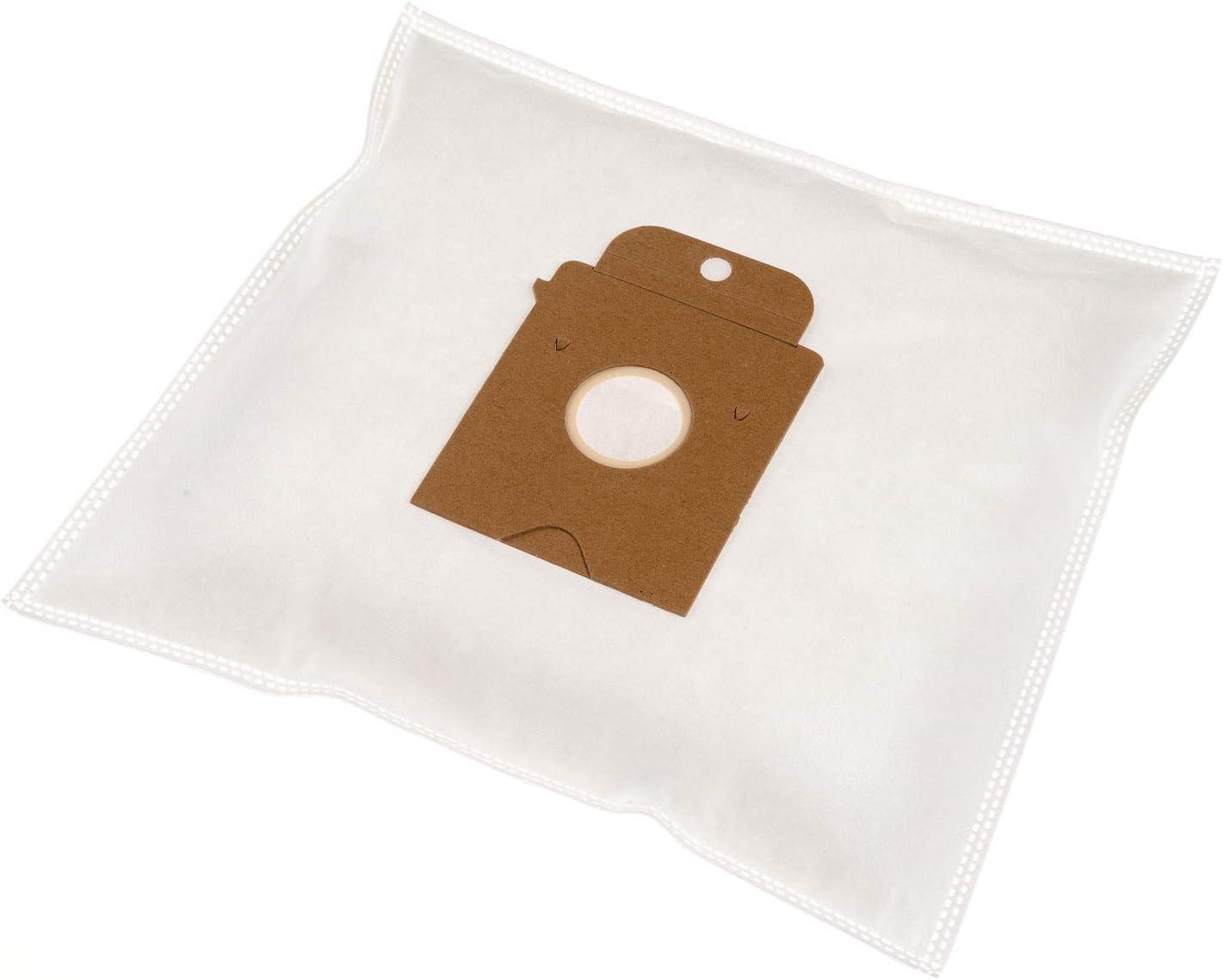 Carlas SBP09-SIE - Bolsas de tela para aspiradoras Siemens Big Bag 3 L/SUPER SX/SMILY/ORIGINAL VZ71 AFK (20 unidades, 5 capas, incluye filtro adicional) 10x: Amazon.es: Hogar