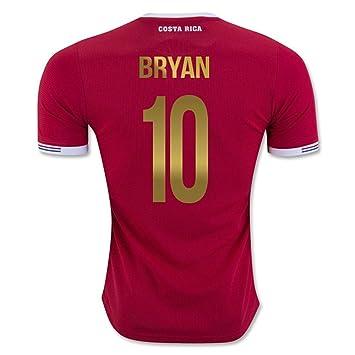 Bryan Ruiz # 10 Costa Rica Jersey de fútbol Copa América del Centenario 2016 (US