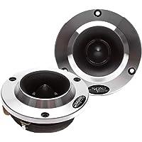 Skar Audio VX200-ST 1.8-Inch 400 Watt High Compression Aluminum Bullet Super Tweeters, Pair