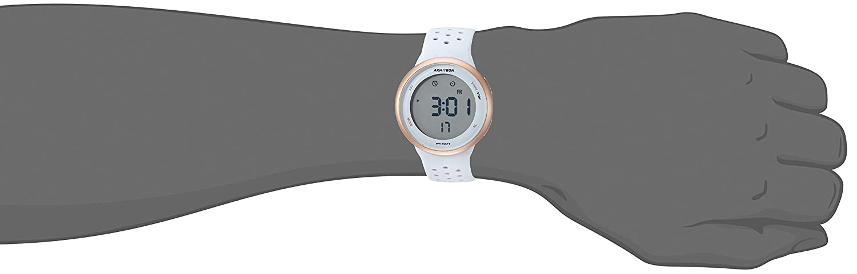 Armitron Sport Unisex 408423 Digital Chronograph Silicone Strap Watch