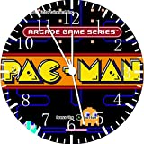Pac Man Frameless Borderless Wall Clock F28 Nice For Gift or Room Wall Decor