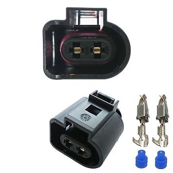 Coche para conector – Amp Tyco VAG de 2 pin (Female) 1j0973722, 1J0