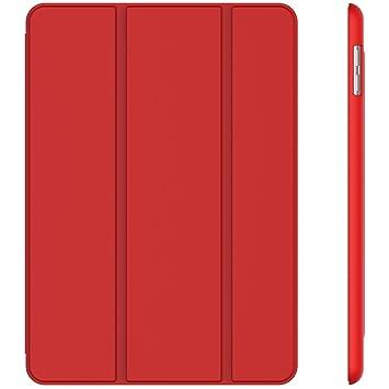 837ec664ddf JETech Funda para iPad (9,7 Pulgadas, 2018/2017 Modelo, 6ª / 5ª  generación), Carcasa con Auto-Sueño/Estela, Rojo: Amazon.es: Electrónica