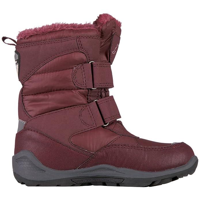 Kappa Unisex-Kinder Tundra Tex Kids Combat Boots, Rot (2525 DarkRed), 33 EU