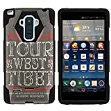 MINITURTLE Case Compatible w/LG G Stylo Phone Case, Silicome and PC Shock Impact Stand Case w/Dazzling Designs for LG G Stylo LS770, H631, MS631, LG G4 Stylus Mt. Kailash Vintage Tag