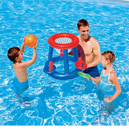 Nuoyi Basketball Swimming Pool Game Toys Adult Children Parent-Child Water Games Water Polo Water Basketball Goal…