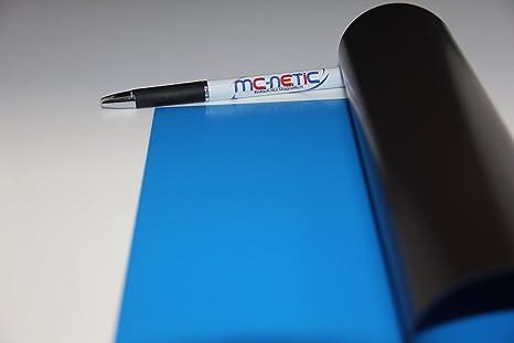 1 Stück Magnetfolie DIN A4 Magnetband Rot PVC-beschichtet Matt bedruckbar