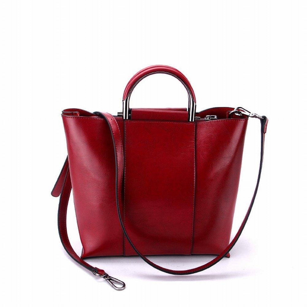 High-Volume-Mode Handtasche Handtasche Diagonal Alle Spiel Handtaschen , Weinrot