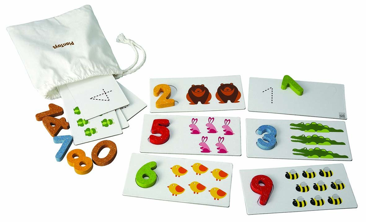 PlanToys Plan Preschool Number 1-10 Baby