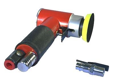 Mini Lijadora de aire excéntrica para discos de lijado de 2