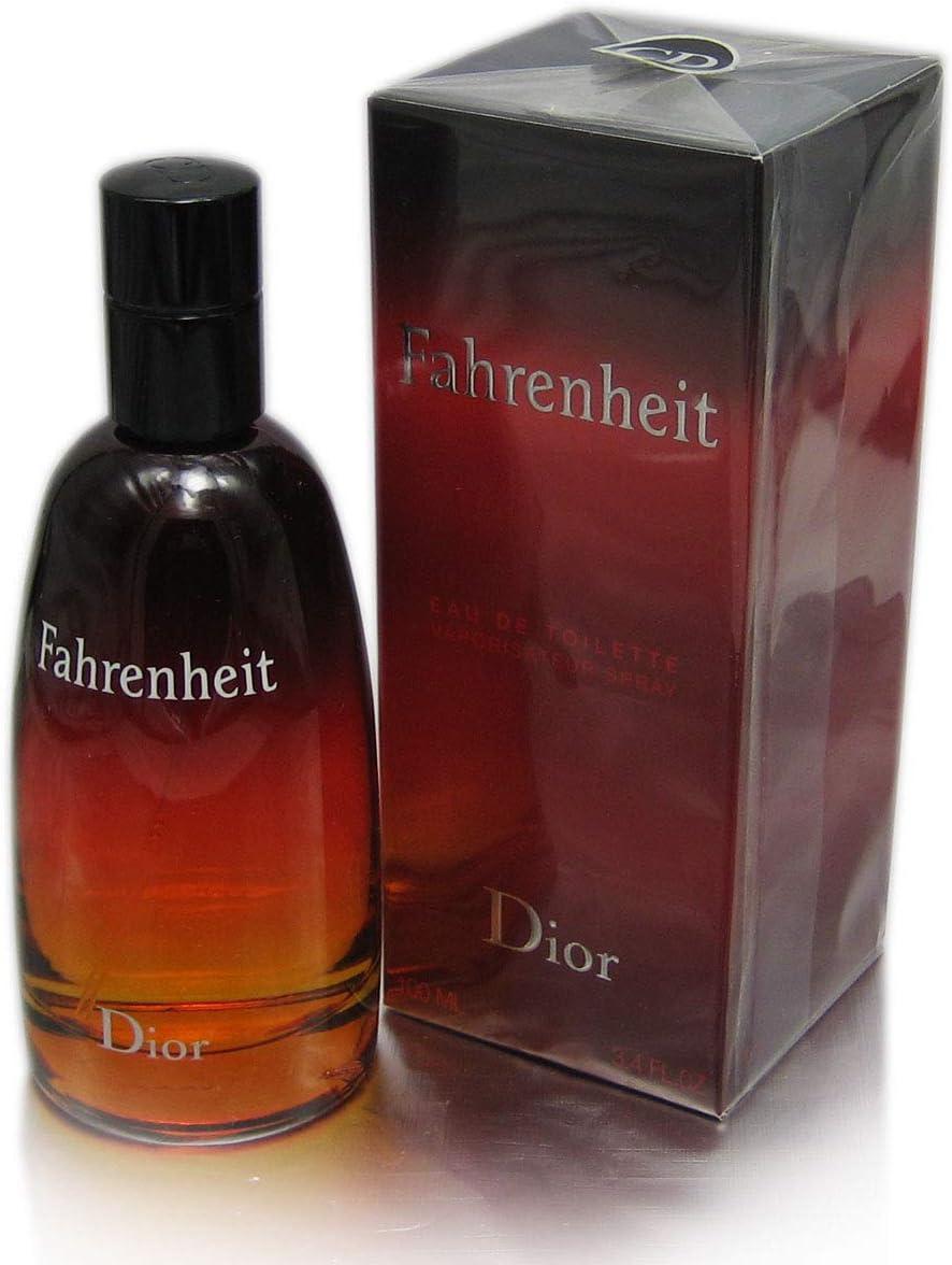 Dior, Fahrenheit Agua de Colonia para Hombre- 100 ml.: Amazon.es ...