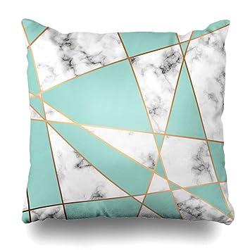 Amazon.com: AlliuCoo Throw Pillow Covers Block Pink Pattern ...