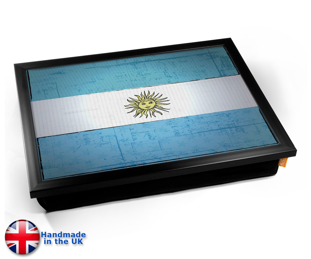 Argentina World Cup 2010 Flag Bandeja Cushion Lap Tray Cojín Bandeja Flag de Regazo d7bccb