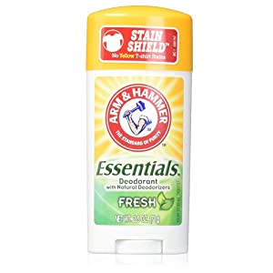 ARM & HAMMER Essentials Natural Deodorant Fresh 2.50 oz (Pack of 7)