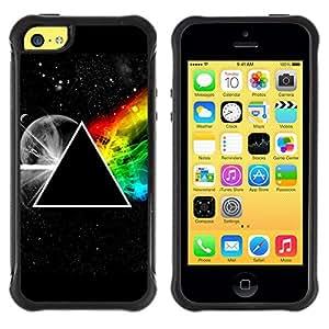 King Case@ Triangle Secret Symbolics Universe Rainbow Rugged hybrid Protection Impact Case Cover For iphone 5C CASE Cover ,iphone 5C case,iphone5C cover ,Cases for iphone 5C