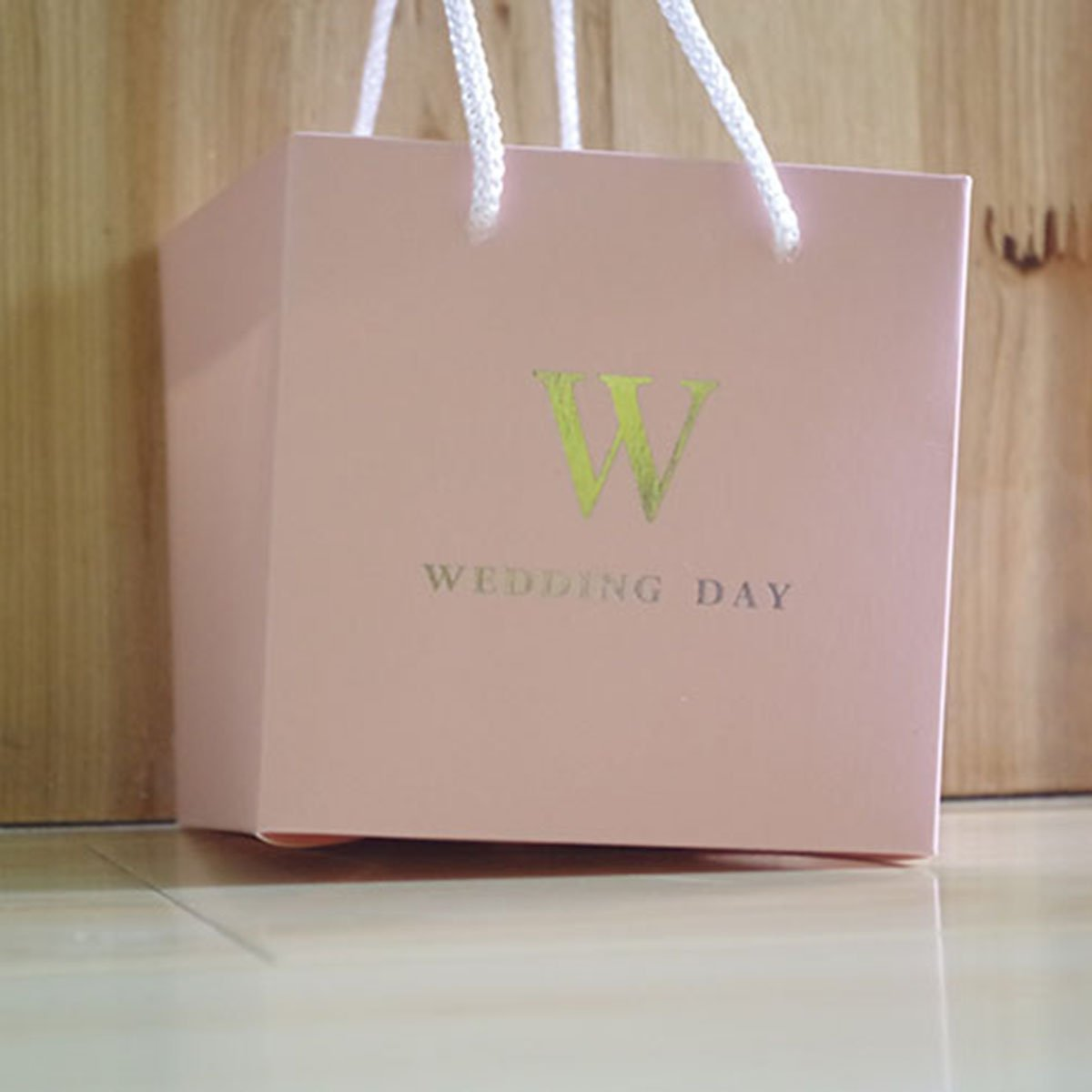 Amazon.com: MagiDeal 10pcs Letter W Wedding Day Loots Bag Paper Bag ...
