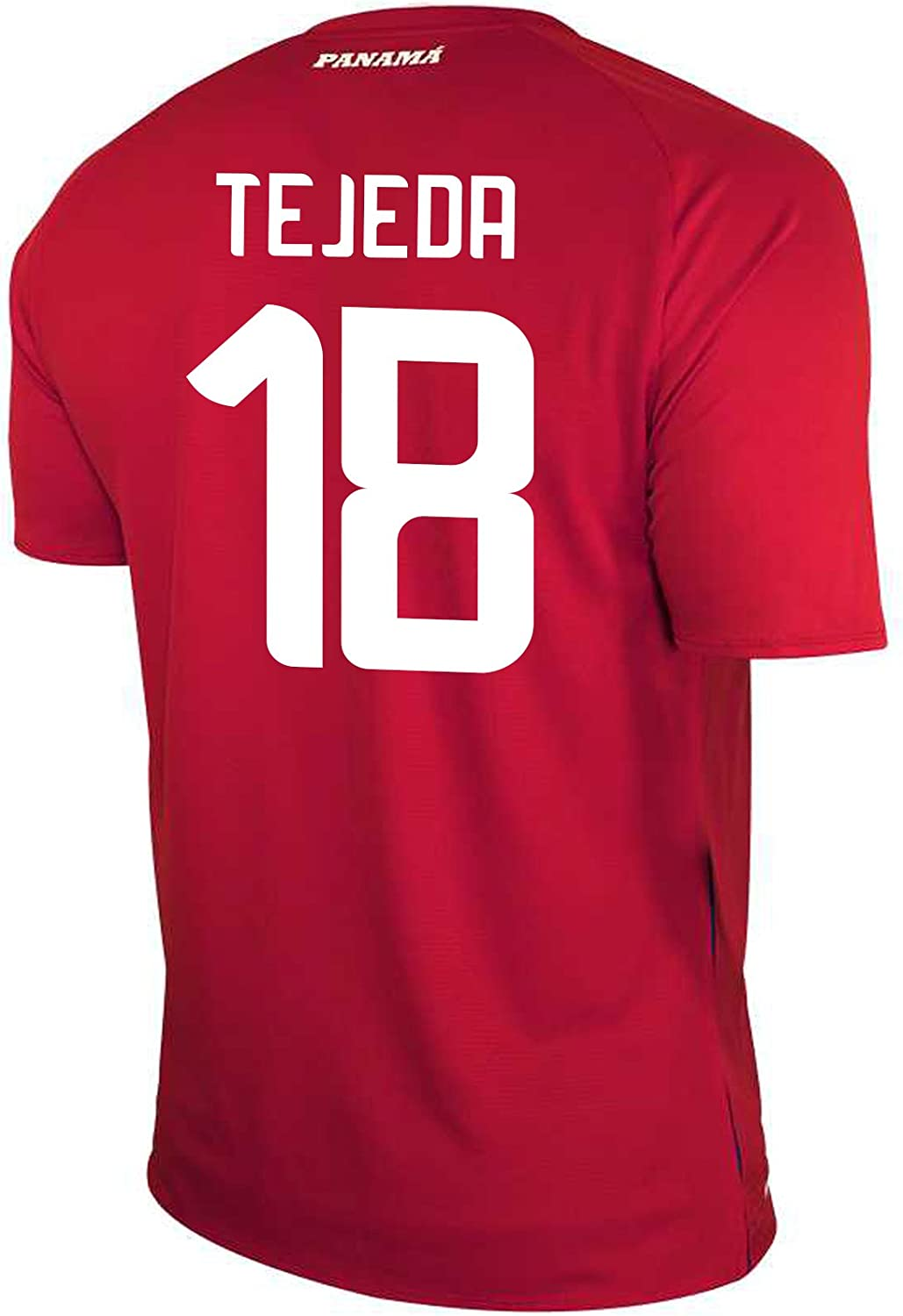 New Balance TEJEDA #18 Panama Home Soccer Men's Jersey FIFA World Cup Russia 2018