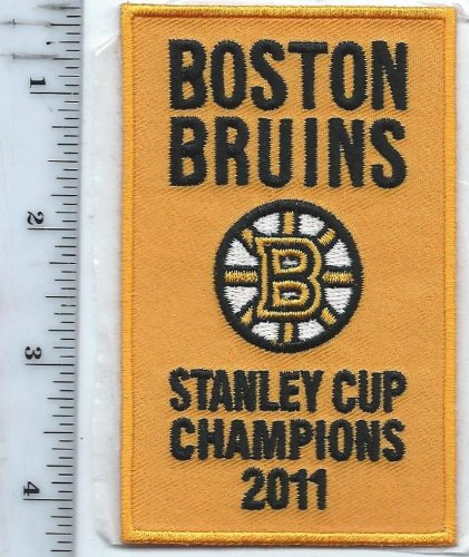Bruins Stanley Cup 2011 Champions Patch Opening Night Boston Garden Banner