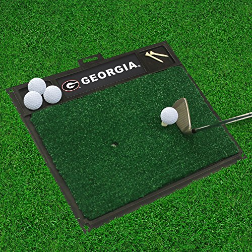 FANMATS 15504 University of Georgia Golf Hitting Mat ()