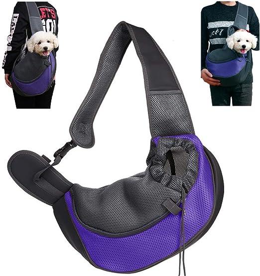 CHUER Mochilas para Perros Gatos, Portador para Mascotas Pequeñas, Transportín para Mascotas Mochila al Aire Libre del Viaje para Mascotas del Peso hasta (5kg): Amazon.es: Productos para mascotas