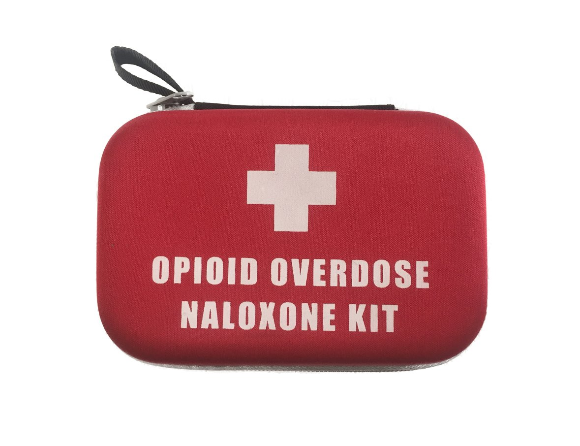 Rescue Shot Case® Professional Case for Naloxone/Narcan Opioid Overdose Kit  (Case Only) (Hard Case 5 75