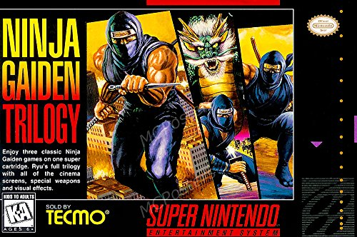 PremiumPrintsG - Ninja Gaiden Trilogy Super SNES Box Art - XNVG012 Premium Decal 11